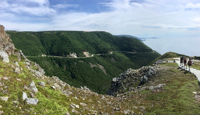 Cabot Trail highway/ Skyline Trail